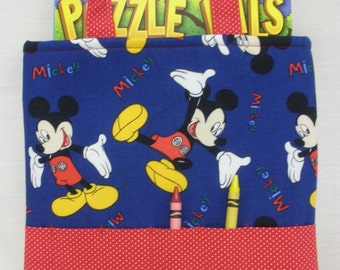 Mickey Mouse Crayon Tote