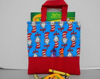 Dr. Seuss Cats in the Hats Crayon Tote