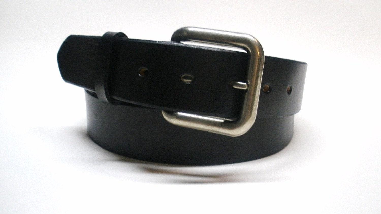 black leather belt handcrafted s black leather belt