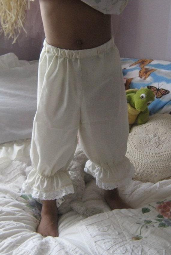 Pantaloons  Girls  size 7and 8 White or Ecru