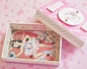 Handcrafted Valentine Game Box, Ballerina Theme
