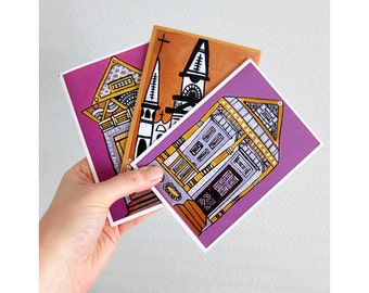 NOLA Life (Set of New Orleans Themed Greeting Cards)