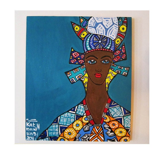 Creole Sister from that Delta Mother (one of a kind painting)