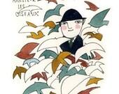 monsieur les oiseaux (A5 print)