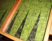 Forest  Mist Mulberry Backgammon Board