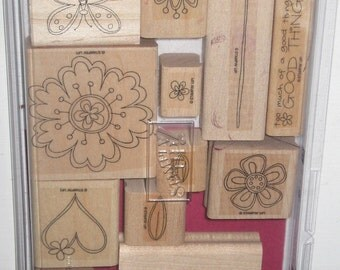 Stampin Up Time Well Spent Stamp Set