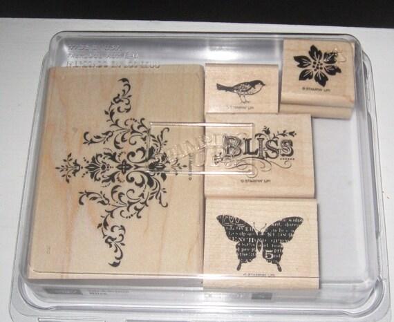 Stampin Up Bliss Stamp Set reserved for Leslie 30