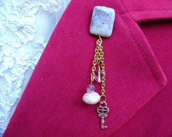 Pink and Pretty Lapel Pin