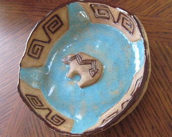 Native Inspired Medicine Plate
