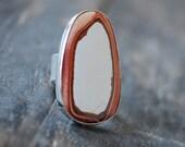 Summer White Ring