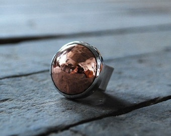 The Copper Stone Ring