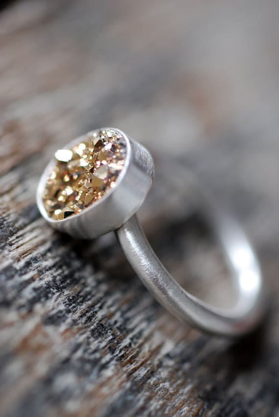 Lil Gold Rush Ring-Reserved for Luke