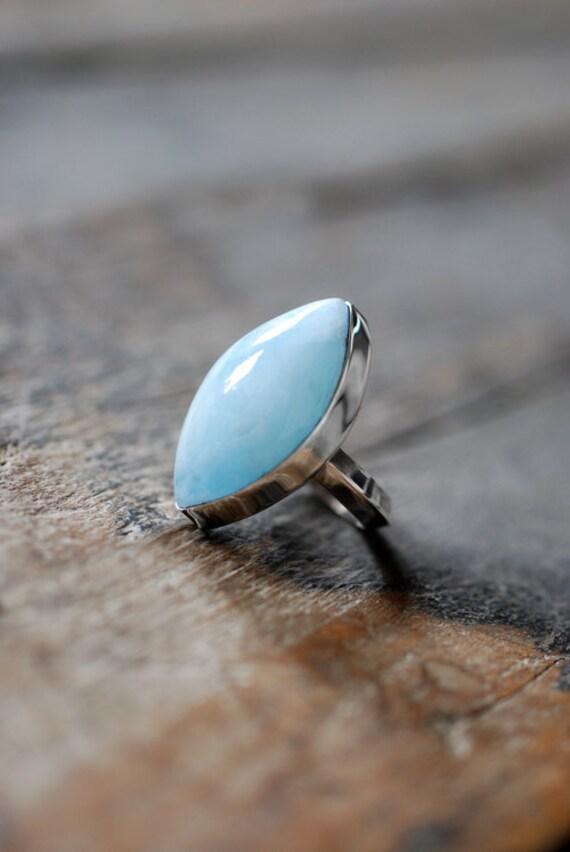 Pale Blue Sky Ring