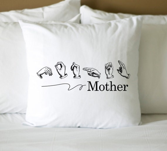 Mother in Sign language  Digital File DIY no. 136 Instant download mother's day