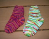 2 pair of very Colorful Baby Socks size 2