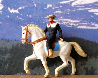 Preiser, HO Scale, Miniatures,  Parade Cowboy on White Horse