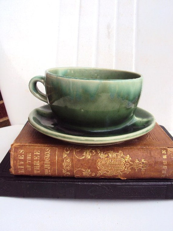 Vintage Brush McCoy Pottery Planter Teacup or Coffee Cup