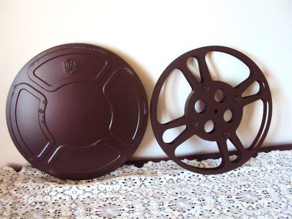 Vintage Movie Reel and Can Cannister 16mm Goldberg