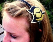 Golden Knight Glitter headband