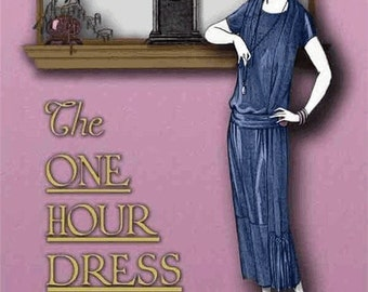 Downton Abbey, Gatsby, Miss Fisher's Mysteries 1920s Make a FLAPPER dress in 1 Hour 20s Dress, Wedding