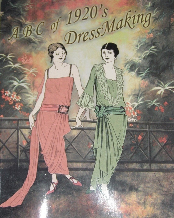 ABC in Dressmaking from 1923 20s Easy Dress Design for Beginners
