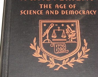 Mans Achievement The Age of Sccience and Democracy BOOK 1935