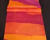 "Marimekko Joiku ""Yoik"" Table Runner Orange - Red - Purple"