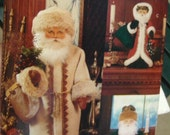 Vogue Craft Pattern Mint Father Christmas 8126 Santa Vintage with Transfers for Face