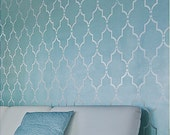 Wall Stencil Marrakech Trellis - Short - Reusable stencils for DIY decor