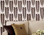 Acacia Allover Stencil - Reusable stencils for walls - DIY home décor - Easy DIY wall décor - Better than wallpaper!