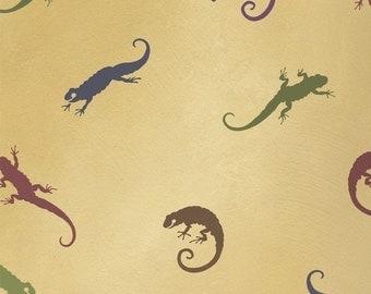 Reusable Stencils Little Salamanders 3 pc kit - Kids room decor -DIY