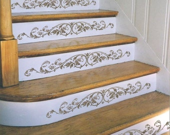 stair stickers etsy fr. Black Bedroom Furniture Sets. Home Design Ideas