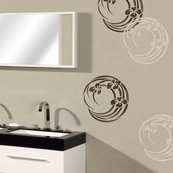 852 Bathtub Data Base Emails Contact Us Hk Mail: Reusable Stencil Iris Swirl MED Stencils For DIY Home Decor