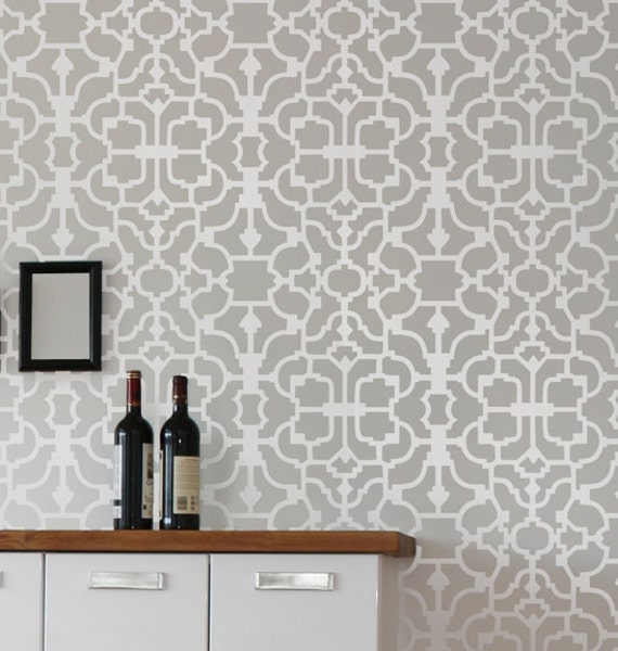 wall stencil vision reusable wallpaper stencils money