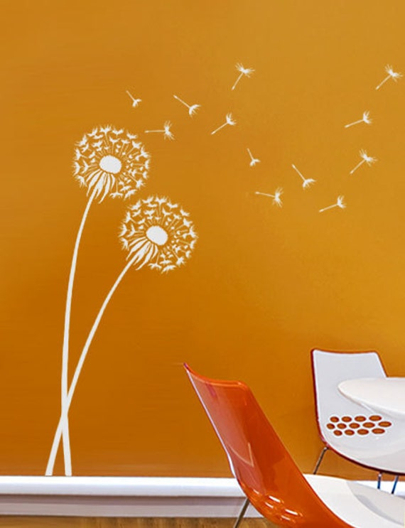 Dandelion Stencil Reusable Wall Stencils Better Than Decals