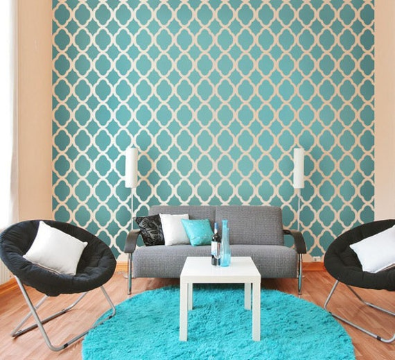 wall stencil ideas for living room rabat moroccan stencil design large reusable stencils for 25297