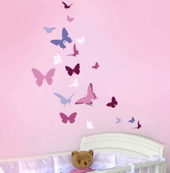 tanz wand schablone einfache wand schablone f r kinderzimmer. Black Bedroom Furniture Sets. Home Design Ideas