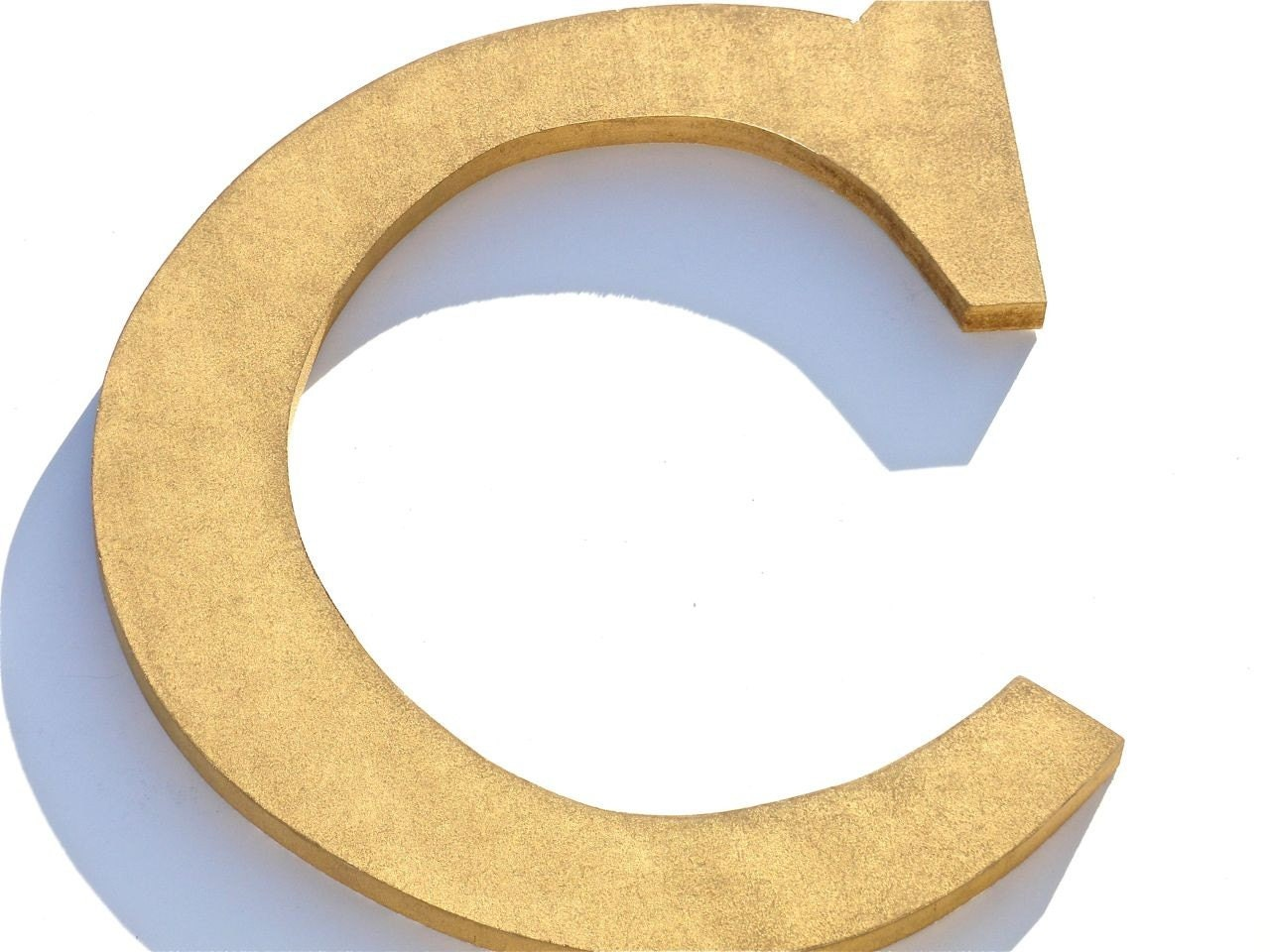 letter c wall decor items similar to custom wood gold letter c wall decor 22784 | il fullxfull.225540551