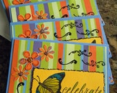 Butterfly Wishes Note Card Set