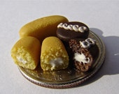 limited edition photograph of handcrafted miniature twinkies and hostess cupcakes