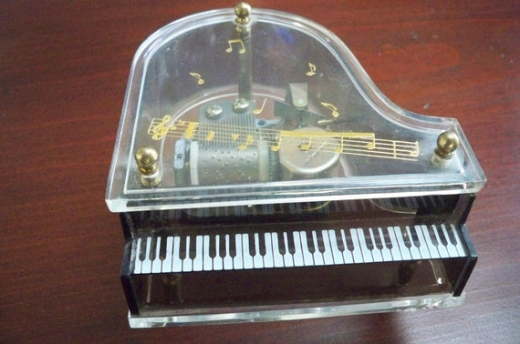 Vintage Schmid Piano Music Box