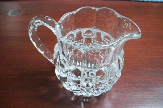 Vintage Collectible Miniature Glass Pitcher