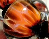 Handmade Glass Lampwork Bead-Glass Beads-Boro Beads-By Brenda Scata-7 beads-APACHE