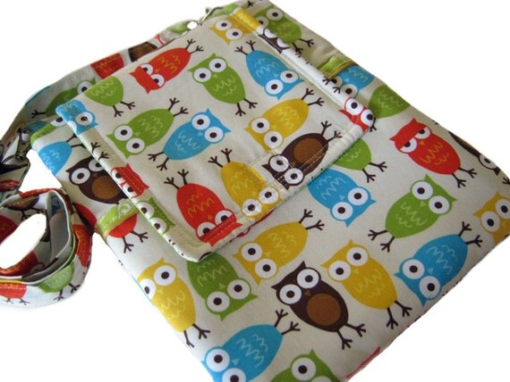 iPad  Case eReader Case Cover Sleeve Detachable Strap OWLS OWLS OWLS Colorful