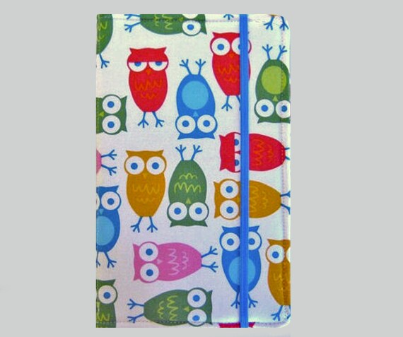 Kindle Cover Hardcover Kindle Case Cover Nook Cover Custom eReader Cover Owls