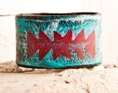 Turquoise Jewelry Native Tribal Geometric Accessories Handmade  Sale - rainwheel