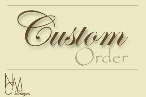 Custom Order for nataliestanley1 - Two Wedding Ring Boxes for Ring Bearer