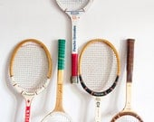 Vintage Tennis Rackets // Three Available - You Choose One