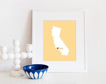 Ventura is My Home // 8x10 Digital California Print
