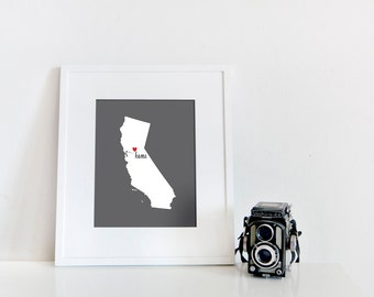 Sacramento is My Home // 8x10 Digital California Print